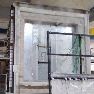 Fire rated sliding doors with CE marking