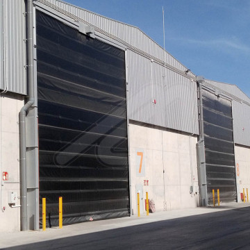 Installation of high-speed doors with ATEX certification