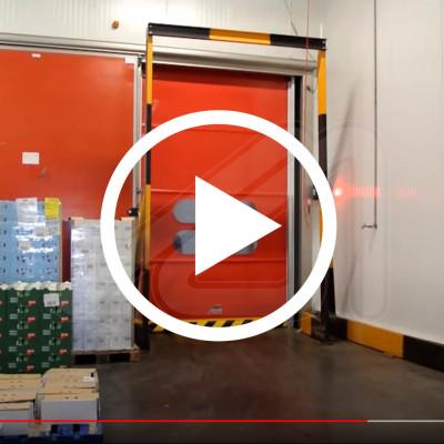 Mirflex high speed auto-tracking door