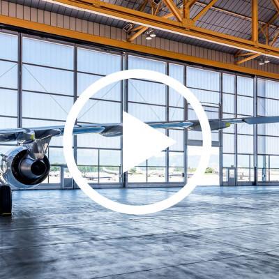 Portes per hangar