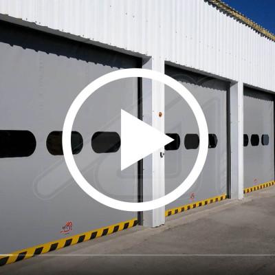 Self-repairing speed door Mirzip