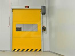 High speed self-repairing doors