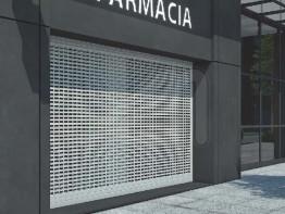 Puertas enrollables para uso comercial