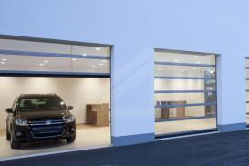 Puerta seccional SPACELITE HT40 VISION