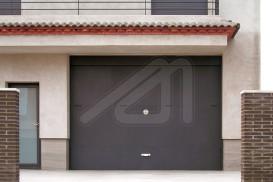 Sheet overhead garage door