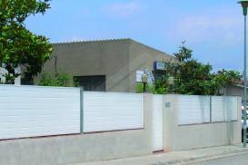 Tanca de jardí perimetral panell Sandvitx