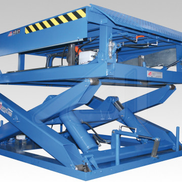 Docklift; Dock leveller and lifting table