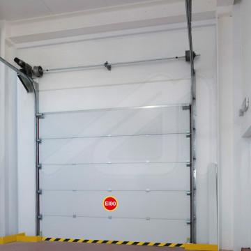 Puerta cortafuegos seccional SeccFire