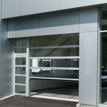 Sectional door SPACELITE HT 40 VISION