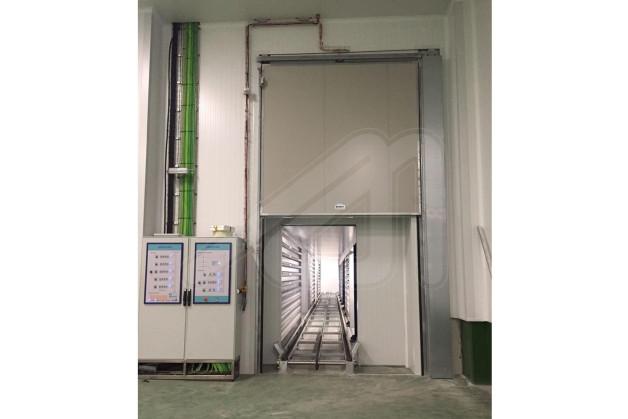guillotine fire door