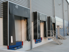 Loading dock shelters