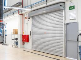 Puertas enrollables para uso industrial
