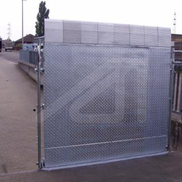 Steel loading bridges PPF-S / PPF-V