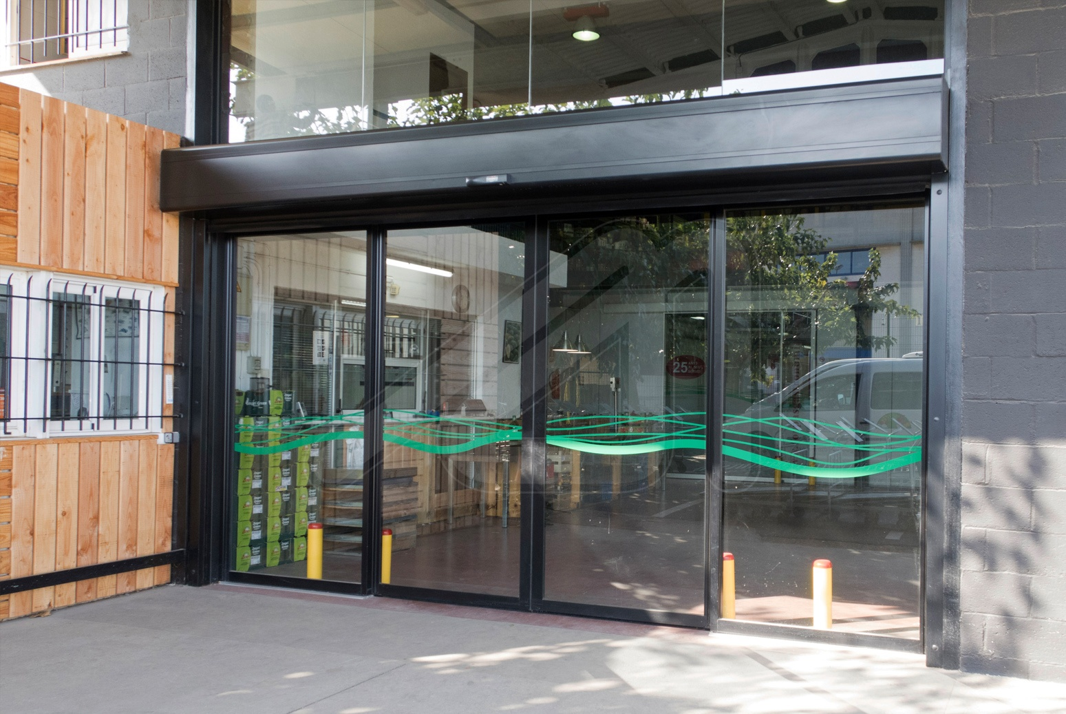 Puerta Pass-Glass Combi