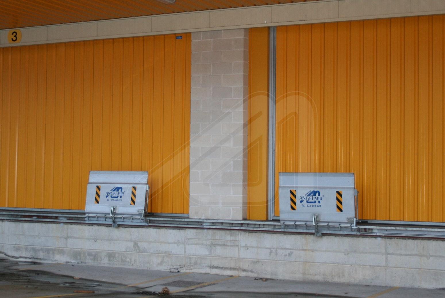 Aluminium loading bridge SKBS / SKBV
