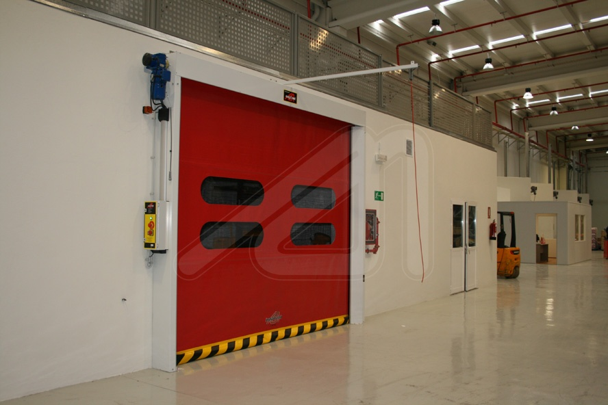 Roll-up high-speed door Instant Roll