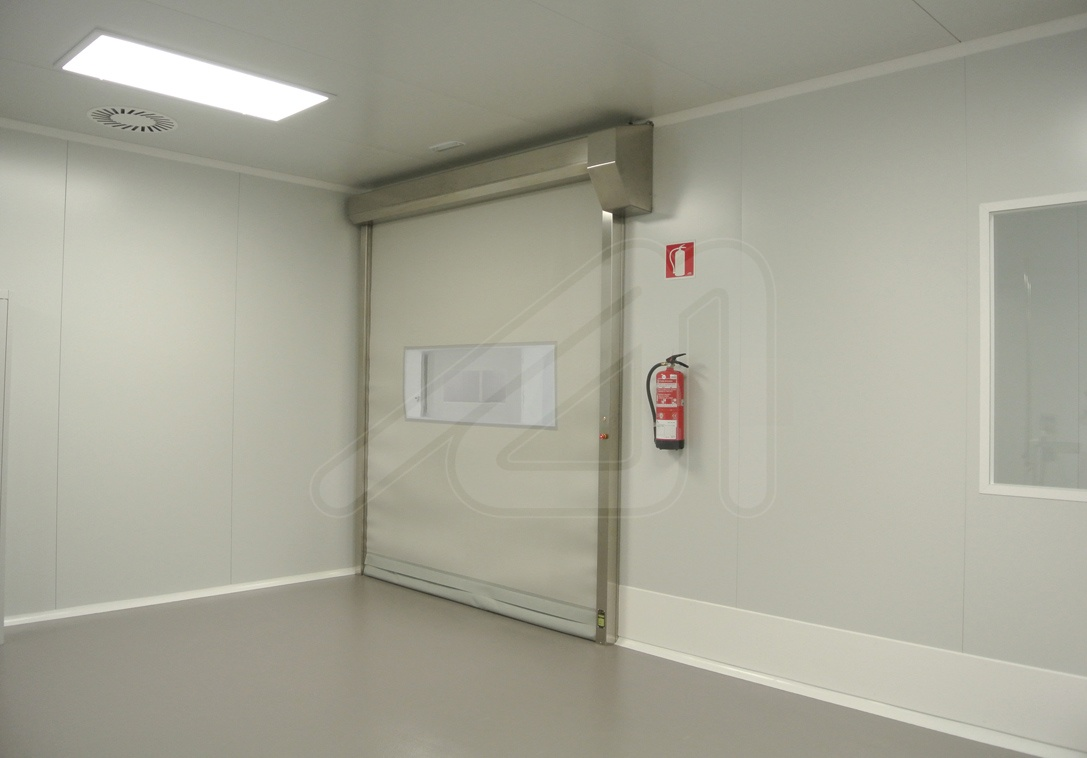High-speed door Hermetic Roll