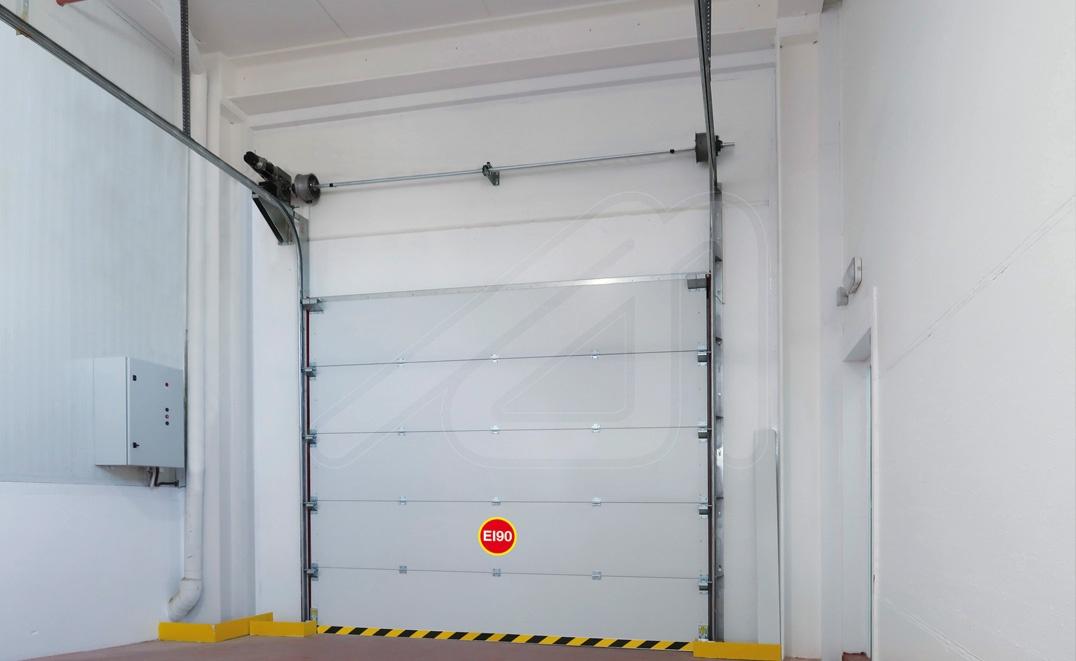 Puerta seccional cortafuegos SeccFire