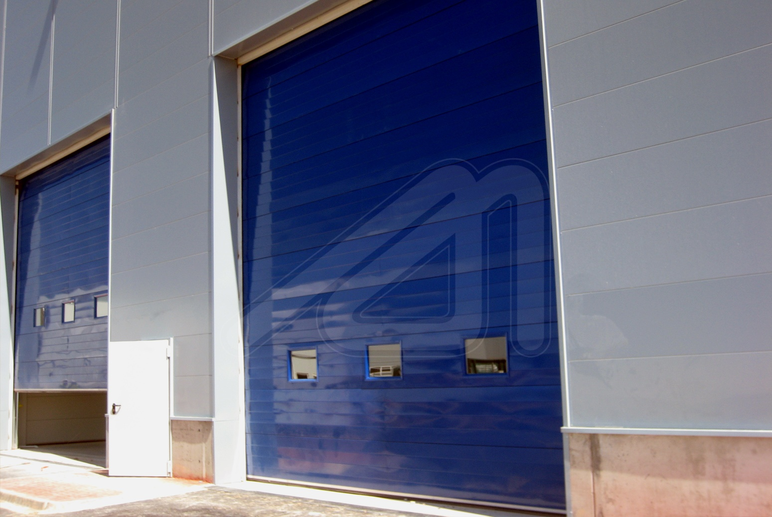 Sectional door Mineral Secc