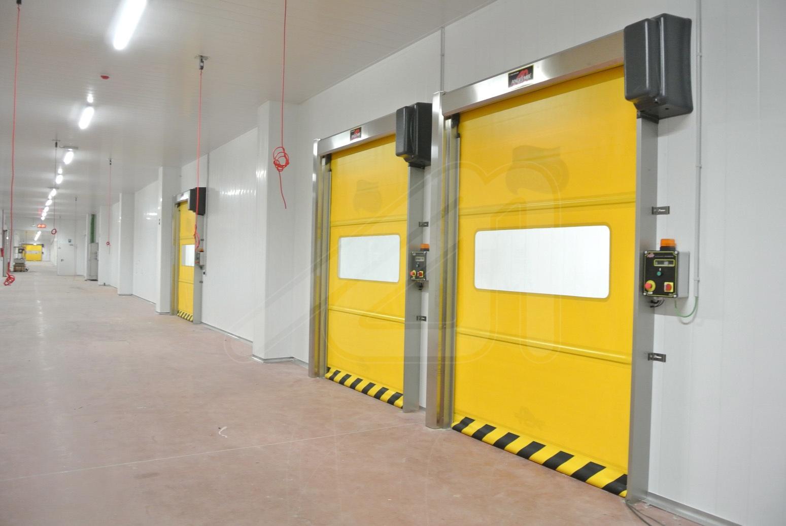 Puerta rápida auto-encarrilable Mirflex